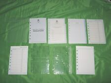 Classic 9 Month Undated Refill Blue Tab Page Lot Franklin Covey 365 Planner