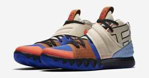 finest selection 868d2 fa19b Image is loading Nike-Kyrie-S1-Hybrid-What-The-Vivid-Blue-