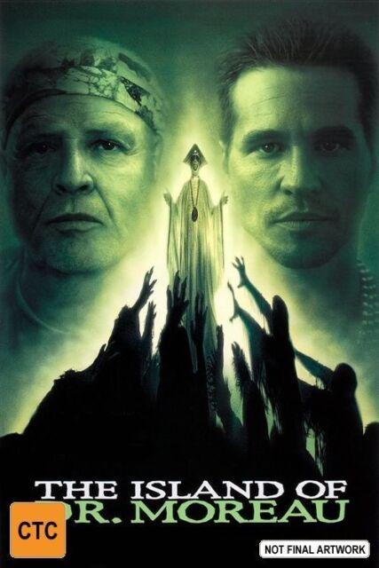The Island Of Dr. Moreau - Marlon Brando - DVD - REGION 4