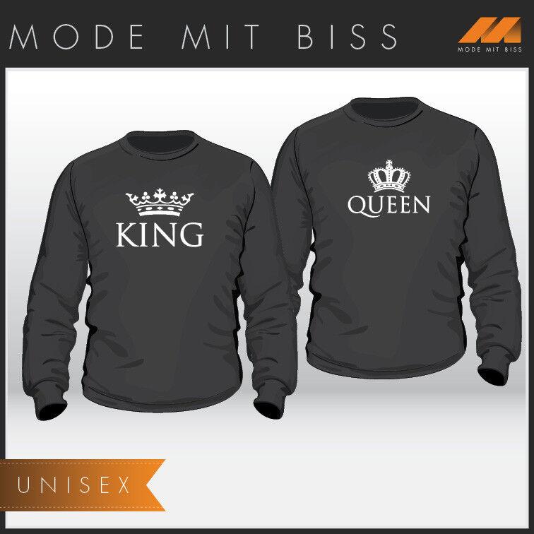 Partner Pullover Set King und Queen