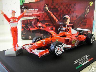 F1  FERRARI 2006 ITALY 248 F1 SCHUMACHER 1 18 HOT WHEELS J2994 formule 1 voiture