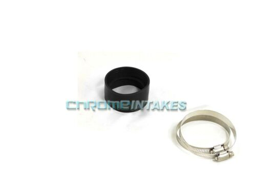 """BLACK 3.5/""""-3.5/"""" AIR INTAKE//PIPING RUBBER COUPLER FOR BMW"""