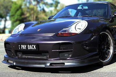 Porsche 986 Boxster 911 996 GT2 EVO Cargraphic style Bumper Lip Spoiler