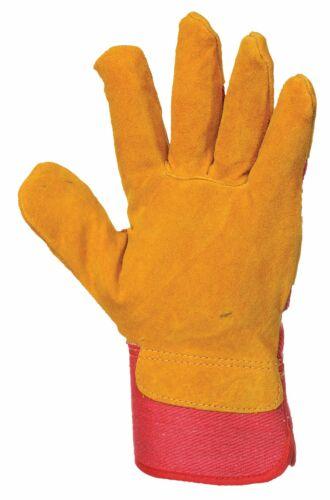 A225 Portwest Fleece Lined Rigger Gloves XL