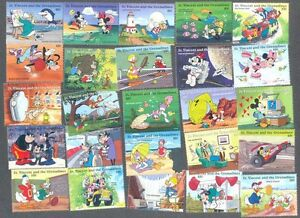 Disney-100-all-different-stamp-collection