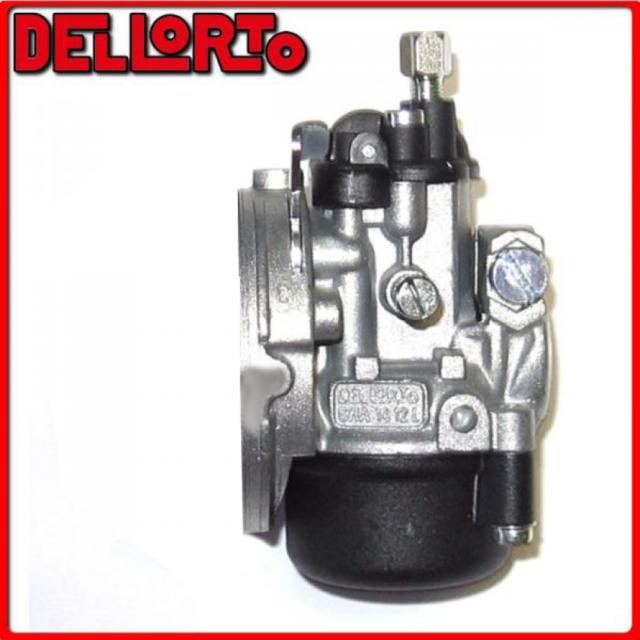 02286 Carburetor Dellorto Sha 14 12 L 2t Manual Air Female Mount Universal  CICLO