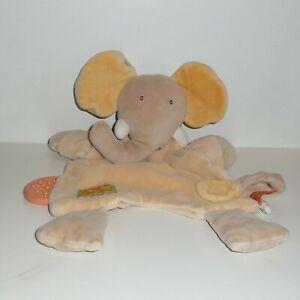 Doudou-Elephant-Moulin-Roty-Collection-Les-loustics-Attache-Tetine