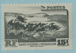 ST-PIERRE-AND-MIQUELON-340-MINT-HINGED-OG-NO-FAULTS-EXTRA-FINE