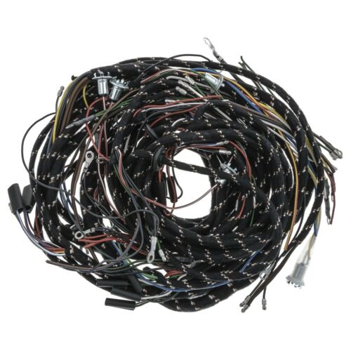 MGA 1500CC Wiring harness Complete loom Cloth 1955-1959 NEW ML594 Moss Europe