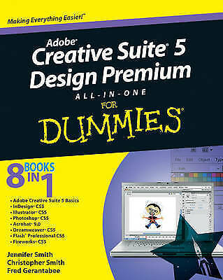 1 of 1 - Adobe Creative Suite 5 Design Premium All-in-one For Dummies by Jennifer...