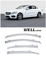 02-14 Mercedes-Benz G-Class W463 G500 G55 Out-Channel Window Visor Sun Guard 4pc