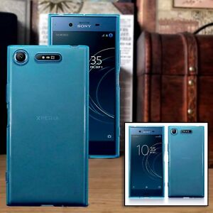 Xperia-XZ1-Compact-Case-Impact-Displacement-Thermoplastic-Gel-Blue-TuffShell
