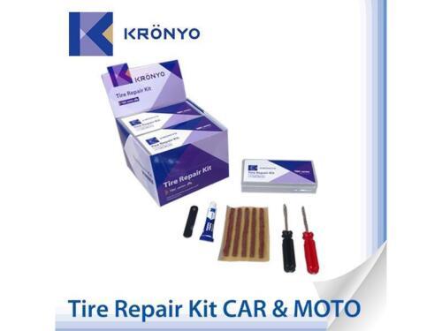 GOMME auto riparazione Set Flickset AUTO GOMME MOTO rappezzi auto riparazione
