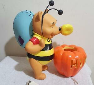 Disney Winnie The Pooh Lamp Halloween Bumble Bee Lighted