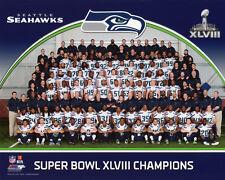 2014 SEATTLE SEAHAWKS CHAMPIONS Glossy 8x10 Photo Super Bowl XLVIII Print Poster