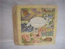 PLANT A GARDEN Scrapbook or gardening Journal Lang Books Spiral Bound Acid Free