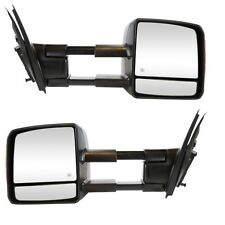 Toyota Tundra 2007-2015 Power Heated with Signal Tow Towing Mirror Pair Set