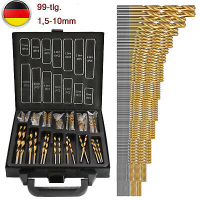 20 Stück Mini Bohrer 0,3-1,6mm Sortiment Miniaturbohrer Spiralbohrer Bits Set