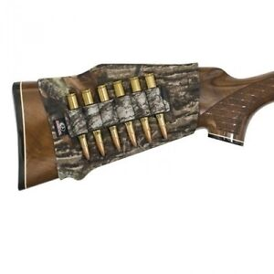 Mossy-Oak-CAMO-neoprene-Buttstock-6-RIFLE-shell-holder-stock-bullet-MO-NBRS-BM