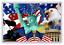 Choice-of-American-Diner-Fridge-Magnet-NEW-Route-66-Americana-USA-Retro miniatuur 23