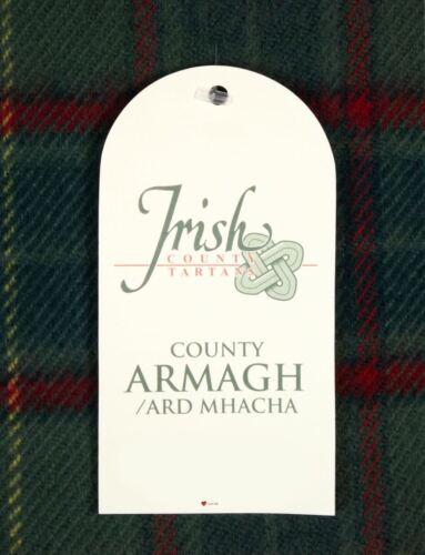 100 In Scarf Tartan Irish Armagh Lambswool County rf6wFrq