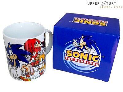 Sonic the Hedgehog - Cast Coffee Mug . FAST 'N FREE DELIVERY