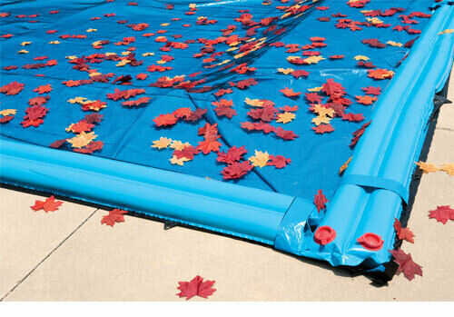 18\'x36\' Rectangle In-Ground Swimming Pool Leaf Net Winter Cover