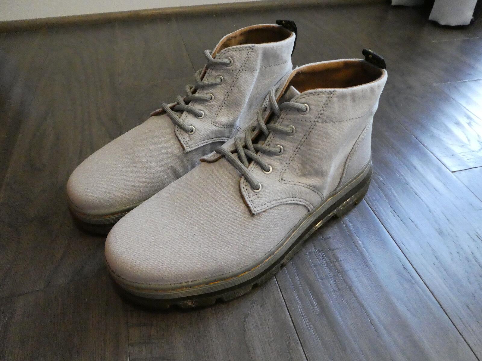 Men's Dr. Martens Bonny Canvas Mid Grey boots 2205353 new