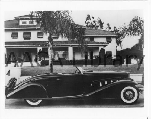 Factory Photo Ref. #39601 1936 Duesenberg SJ Bohman /& Schwartz Convertible
