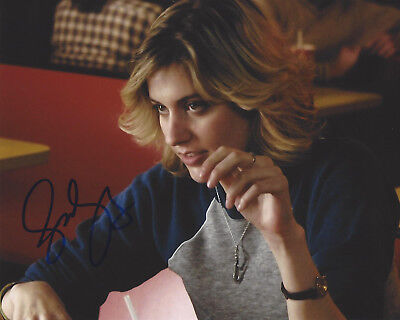 Bright Actress Greta Gerwig Hand Signed Authentic 8x10 Photo W/coa Ladybird Director Autographs-original Movies