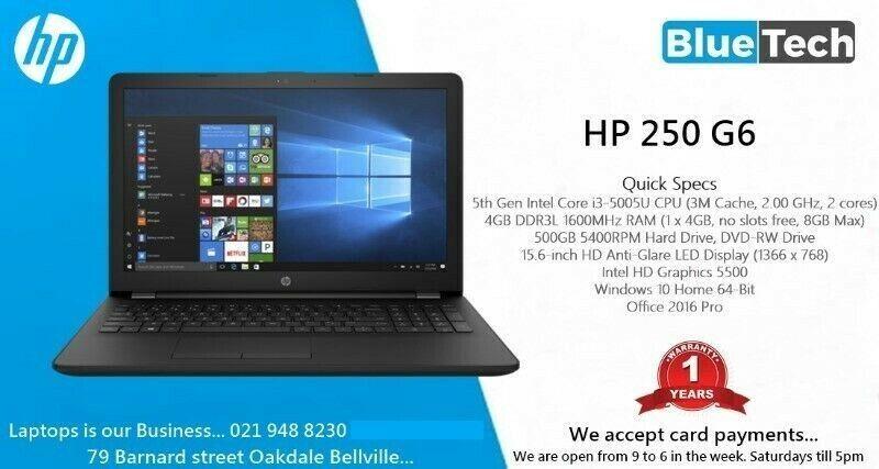 HP 250 G6 - 15 6