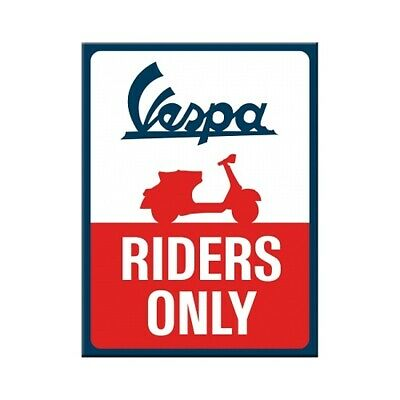 Vespa Roller Magnetico Riders Only Souvenir Frigorifero Fridge 8 Cm- Design Moderno
