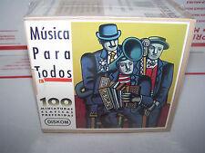 Musica Para Todos: 100 Miniaturas Clasicas Box set  - 8 CDS