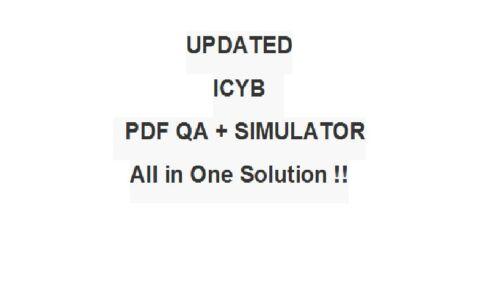 IASSC Certified Lean Six Sigma Yellow Belt Belts Test ICYB Exam QA PDF&Simulator