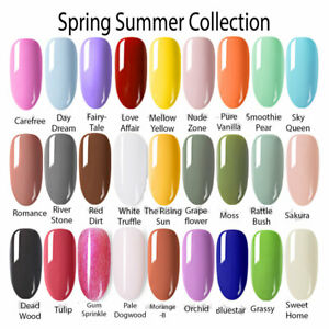 Details about BORN PRETTY Spring Summer Collection UV Gel Nail Art Polish  Colors 6ml