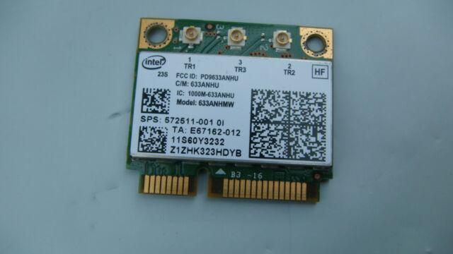 Genuine HP EliteBook 8560p 8570p Wireless Wifi Card 633ANHMW 572511-001 TESTED