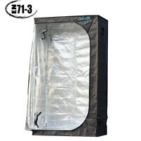 Quictent 48x24x84 Grow Tent Hydroponic Reflective Mylar Indoor Room Non Toxic