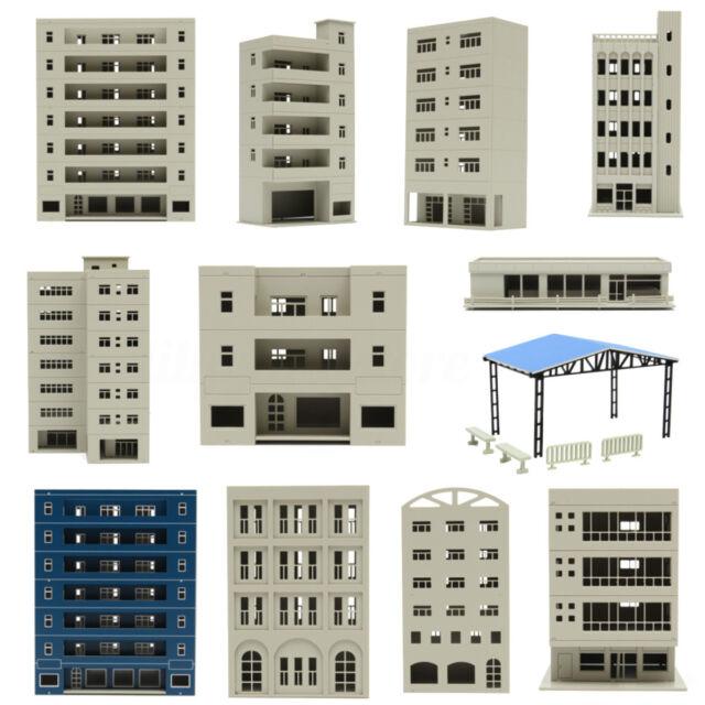 Outland Models Railway Modern City Office Industrial Building N HO OO FOR  GUNDAM