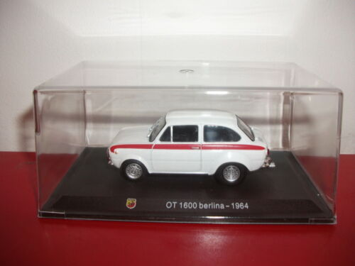 OT 1600 berline 1964 collection ABARTH Italie 1//43 METRO hachette