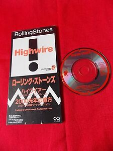 Rolling-Stones-HIGHWIRE-3-034-JAPAN-SINGLE-CD-JAPANESE-UK-Despatch