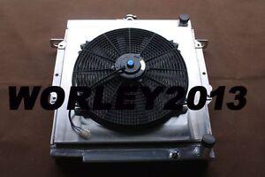 Aluminum-radiator-shroud-fan-for-LandCruiser-75-Series-2H-4-0-Diesel-HJ75-MT