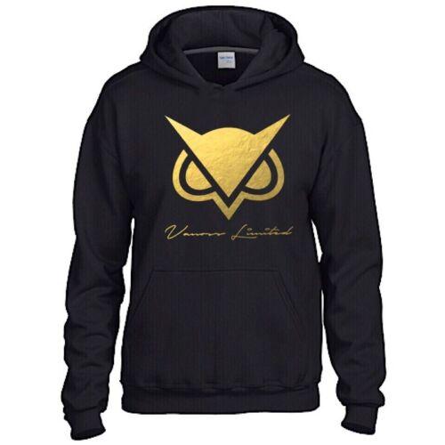 Vanoss VG Owl Black Hoodie Inspired Gaming Gamer You tuber Size L 9-11 SALE!!