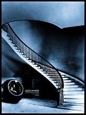 Jack White Stripes Poster 2014 Leeds UK Signed & Numbered #/222 Rob Jones