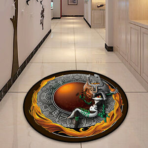 Legend Of Zelda Midna Circle Velboa Floor Rug Carpet Room Doormat