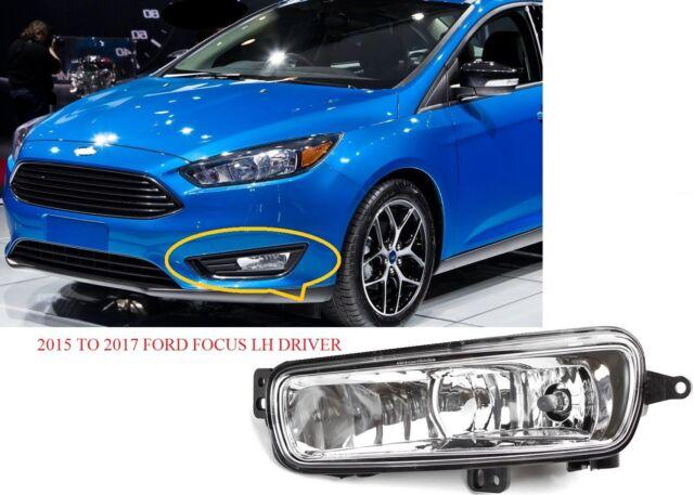 2017 2016 Ford Focus Lh Driver Fog Light F1ez15201a