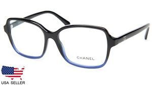 c49ce58ec4 Image is loading NEW-CHANEL-3339-c-1558-BLACK-GRADIENT-BLUE-