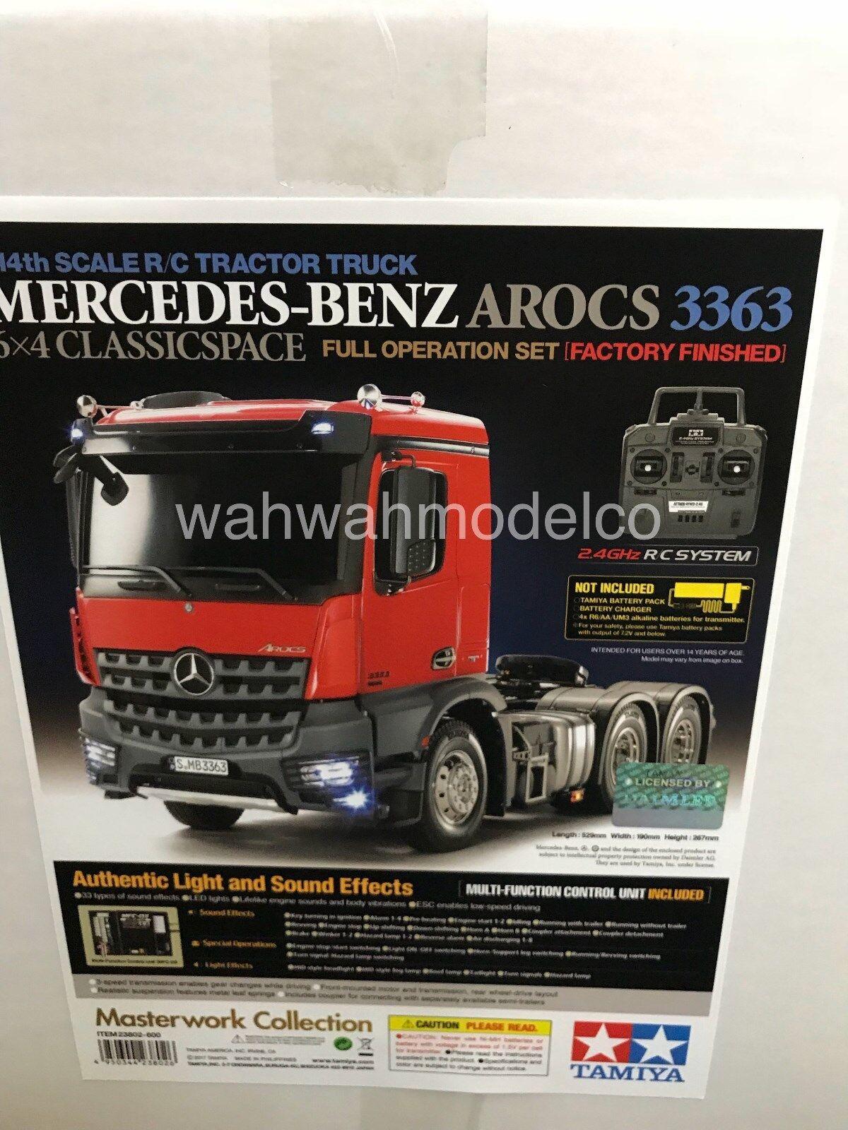Tamiya a 1 14 Mercedes-Benz Arocs 3363 6x4 classicspace Rtr Listo