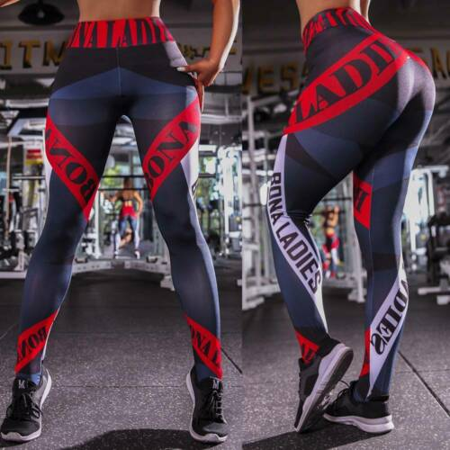 Women Yoga Pants High Waist Fitness Leggings Running Gym Clothes Sports Workout