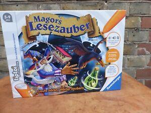 TIPTOI-Magors-Lesezauber-selten-gespielt-ohne-Stift