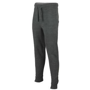 Tuta-da-Ginnastica-da-Uomo-Slim-Fit-Jogging-Bottoms-Skinny-Pantaloni-Sportivi-Palestra-in-Pile